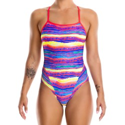 Funkita Crystal Wave Single Strap Badpak