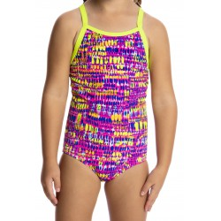 Funkita Dotty Dash Toddler Girls