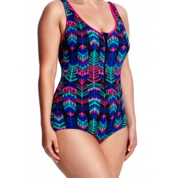 Funkita Form Zip Front Feather Duster
