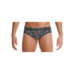 Funky Trunks Black Widow Brief Men