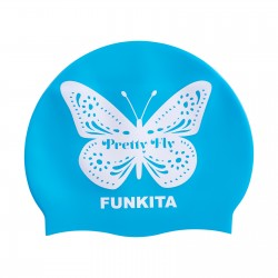 Funkita Pretty Fly Blue Swim Cap Badmuts