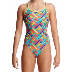 Funkita Panel Pop Diamond Back Badpak Ladies