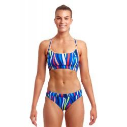 Funkita Raw Hide Ladies Sport Bikini