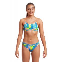 Funkita Juicy Fruit Girls Sport Bikini