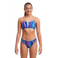 Funkita Raw Hide Girls Sport Bikini